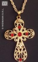Anhänger goldenes Kreuz