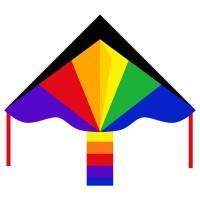 HQ INVENTO Drachen Simple Flyer Rainbow