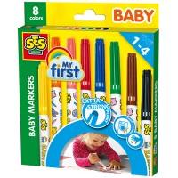 SES SES  Baby Marker 8 Stück