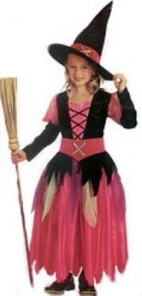 Pink Pretty Witch S (4-6)