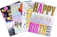Jumbo Geburtstagskarte