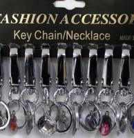 12 Karabiner-Schlüsselanhänger