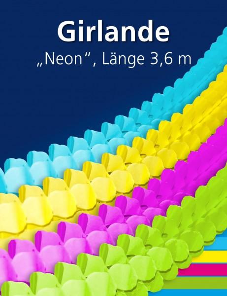 Neon-Girlande