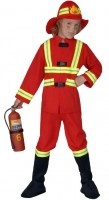 Kinderkostüm Feuerwehrmann 158cm