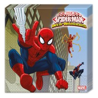 Spiderman 20 Servietten Spiderman