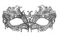 Silberne Dominomaske