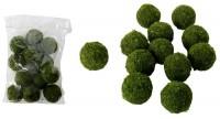 Grüne Deko Moos-Bälle