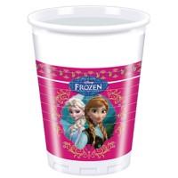 Frozen 8 Plastik Becher Frozen 200ml