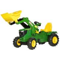 Rolly Toys John Deere Lader + Luftbereif.