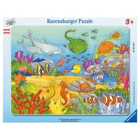 RAVENSBURGER Puzzle Fröhliche Meeres-