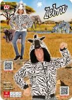 Kostümjacke Zebra L/XL