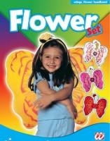 Kinder-Set Blumenflügel