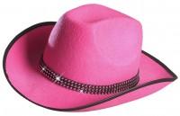 Cowboyhut mit Strass