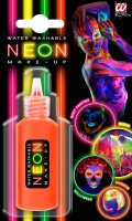 Neon Make-Up orange
