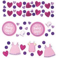 Amscan Deko-Konfetti Baby Shower Girl 34gr