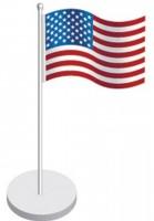 Tischfahnen-Set USA