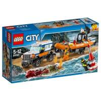 LEGO CITY Geländewagen m. Rettungsboot