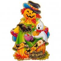 3D Halloween Wanddeko