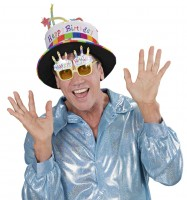 Brille Happy Birthday