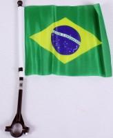 Fahne für Fahrrad Brasilien