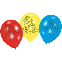 Paw Patrol 6 Ballone Paw Patrol