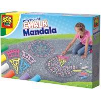 SES SES Straßenmalkreide-Mandala