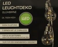 LED Leuchtdeko Glühbirne