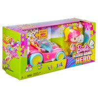 BARBIE VIDEO GAME H. Barbie Pixel-Mobil Set
