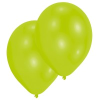10 Ballone hellgrün 27.5cm