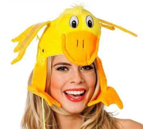 Mütze Ente mit Sound