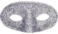 Dominomaske Klassiker silber