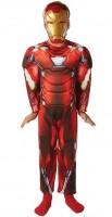 Kinderkostüm Iron Man Deluxe 7 bis 8 Jahre