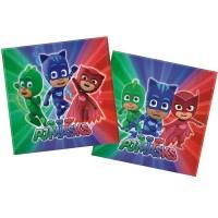 Princess 20 Papierserv. PJ Masks 33x33cm