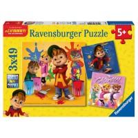 RAVENSBURGER Puzzle Alvin u.d. Chipmunks