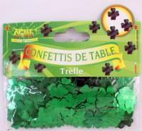 Tischkonfetti Kleeblatt