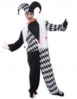 Kostüm Clown Jester M/L