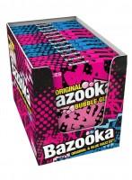 Bazooka Gum Original & Blue Razz 33g x 12