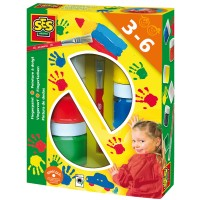 SES SES Fingerfarben 6 x 50 ml