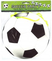 Party-Wimpelkette Fussball