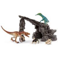 Schleich Dinoset mit Höhle
