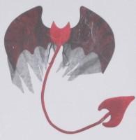 Teufel-Kostüm Accessoires, Einheitsgrösse