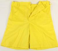 Kinder Waggishose kurz gelb 128cm