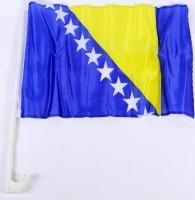 Auto-Fahne Bosnien-Herzegowina
