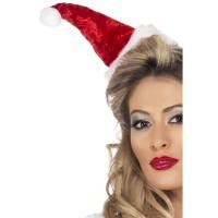 Fasnacht Mini-Weihnachtsmütze Haarreif