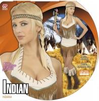 Heisses Indianerinkostüm M