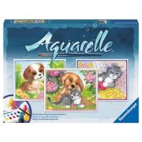 Aquarell Maxi, Tierfreunde