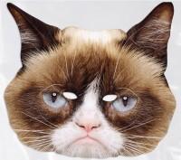 Fotomaske Grumpy Cat