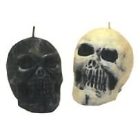 Totenkopf-Kerzen, 3 Stück