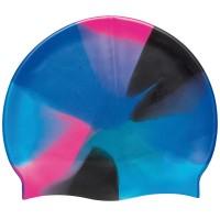 Beco Silikon-Schwimmhaube blau bunt