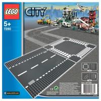 LEGO CITY Gerade Strasse und Kreuzung